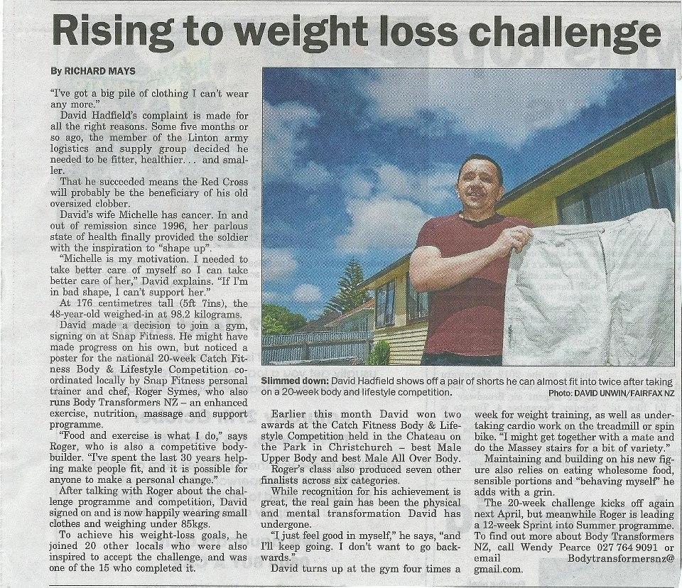 David's article