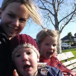 Tarsh parkinson with kids