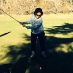 beck smith plays golf